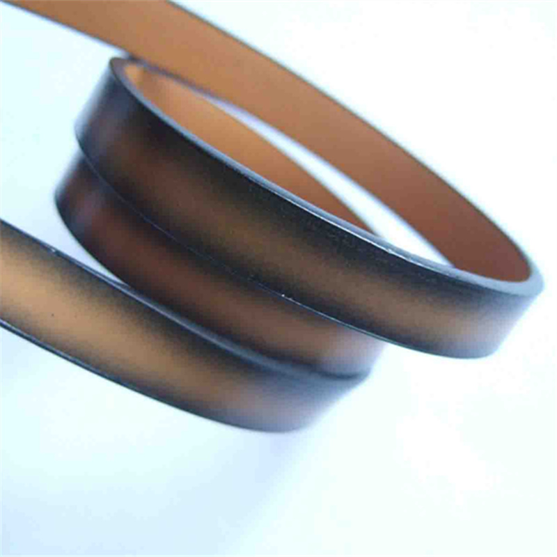 1M / pcs Light Brown 10mm Flat PU Leather Cord Bracelet Necklace Making Cord Components