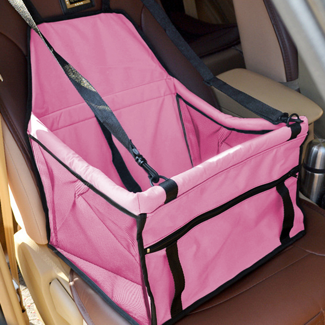 Pet Dog Carrier Pad Waterproof Dog Seat Bag Basket Pet Products Safe Carry House Cat Puppy Bag Dog Car Seat 5