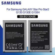 Original Battery For SAMSUNG G130 EB-BG130ABE 1300mAh Samsung Galaxy Star2 Pro G3130 Dous G130H Replacement Phone
