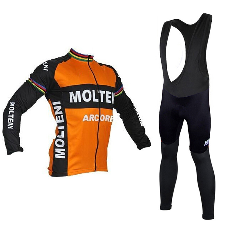 ed7fecb62 Molteni Winter cycling clothing ropa ciclismo thermal Long sleeves maillot  cycling jersey warm hombre bicicleta bike mtb