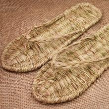 2020 новые модные летние сандалии ручной работы; Плетеные тапочки;