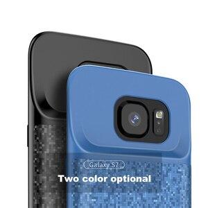 Image 5 - Batterij Case Voor Samsung Galaxy S7 Zachte Dunne Power Bank Oplader Opladen Case Batterie externe Powerbank Case Voor Samsung S7Edge