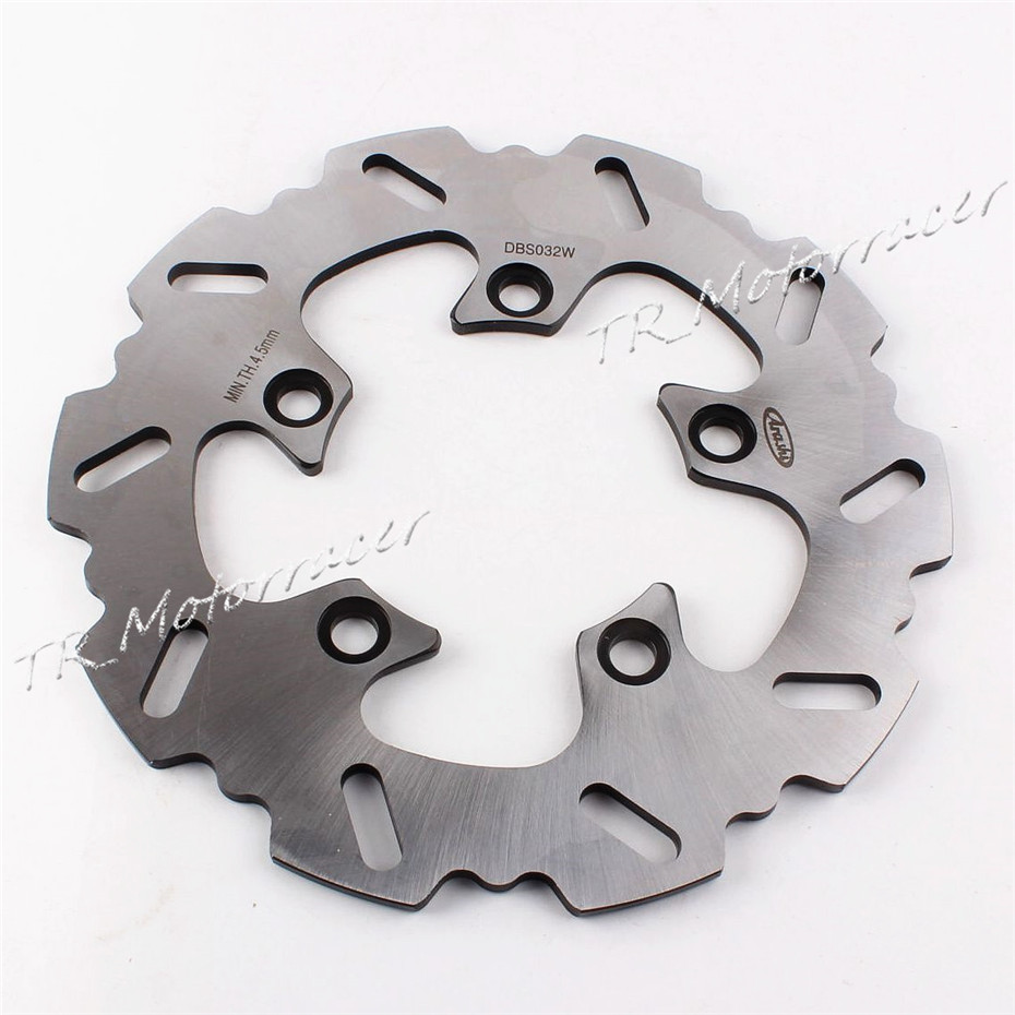 Motor Rear Brake Disc Rotor For Suzuki GSXR 600 750 TL1000R 2000 - 2011 SV650 SV1000 Motorcycle 2001 2002 2003 2004 2009 2010 mfs motor front rear brake discs rotor for suzuki gsxr 600 750 1997 1998 1999 2000 2001 2002 2003 gsxr1000 2000 2001 2002 gold