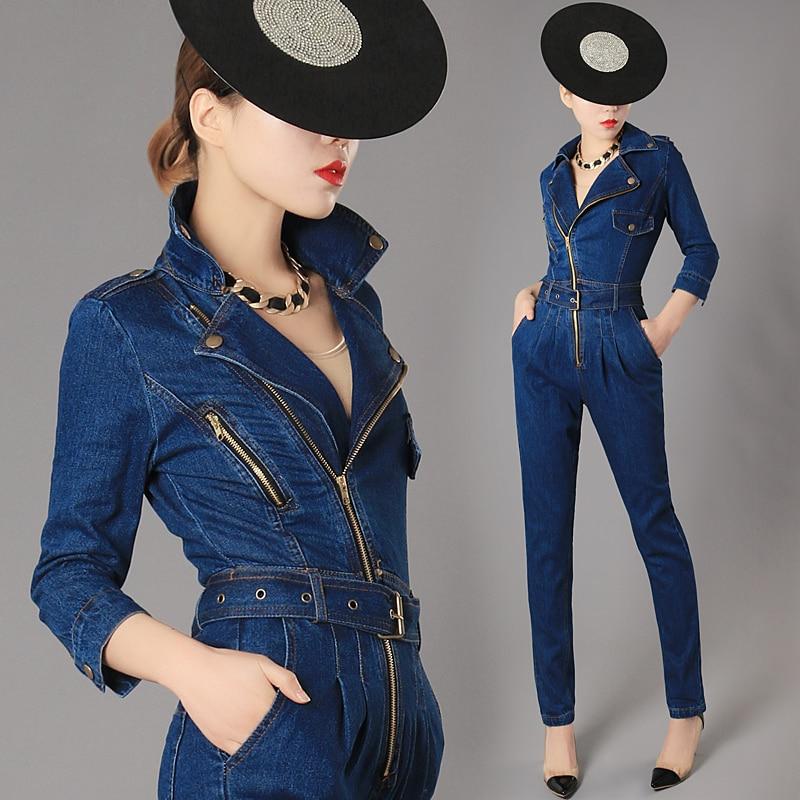 الفاخرة أعلى جودة جديد الأزياء النسائية الرمز حللا الإناث سليم صالح نحيل الجينز السروال القصير مربوط الدنيم حللا حجم S XL-في أفرول من ملابس نسائية على  مجموعة 2