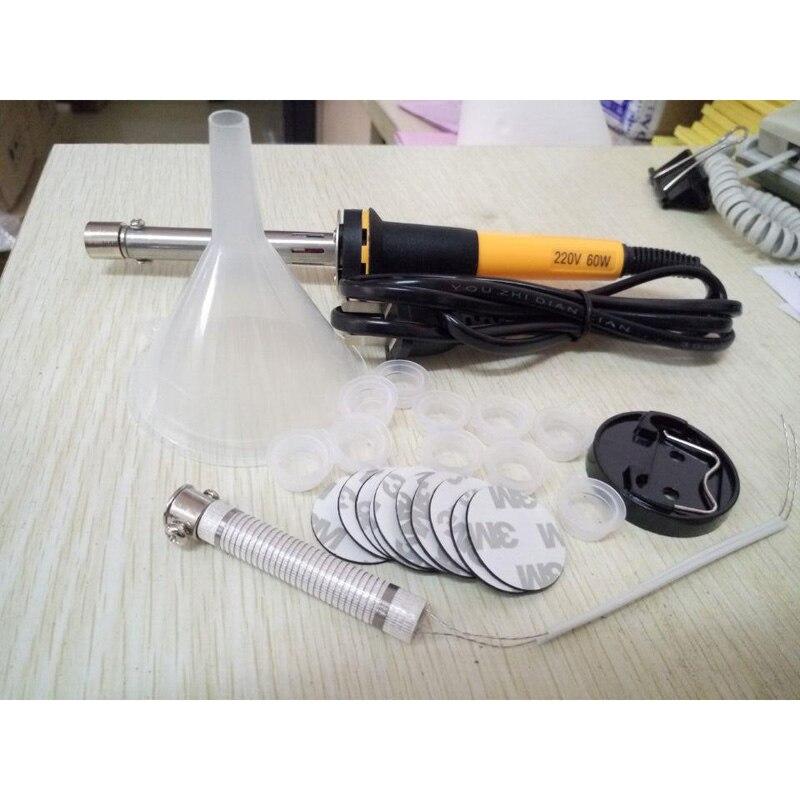 1Set Toner Power Refill Tools For HP/Canon/Lexmark/Samsung/OKI Toner Cartridges Hole Driller Digger And Foam Sticker Plug Cap compatible toner lexmark c930 c935 printer laser use for lexmark refill toner c940 c945 toner bulk toner powder for lexmark x940