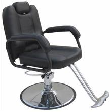 Barber chair. Can be put down. Hairdressing chair.