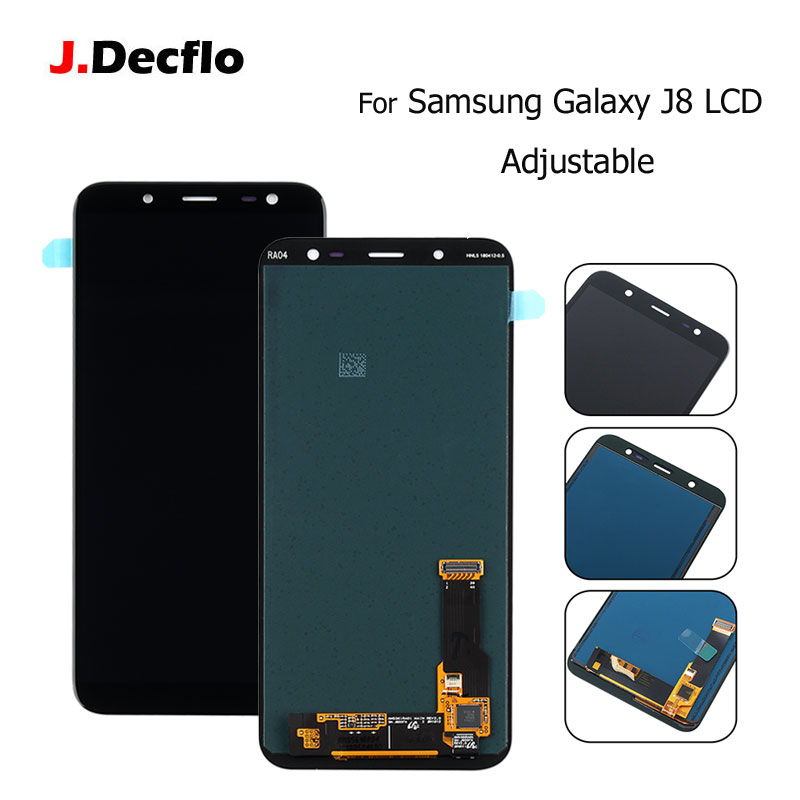 J8 LCD For Samsung Galaxy J8 2018 J800 LCD Touch Screen Digitizer Assembly For SM-J800 LCD Display TFT Adjustable Brightness