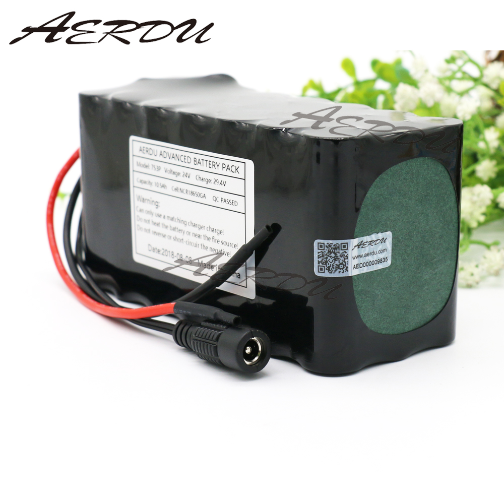 AERDU 7S3P 29.4V 24V 10.5Ah FOR NCR18650GA Li-ion Battery Pack Electric Unicycles Scooters light bicycle wheelchair with BMSAERDU 7S3P 29.4V 24V 10.5Ah FOR NCR18650GA Li-ion Battery Pack Electric Unicycles Scooters light bicycle wheelchair with BMS
