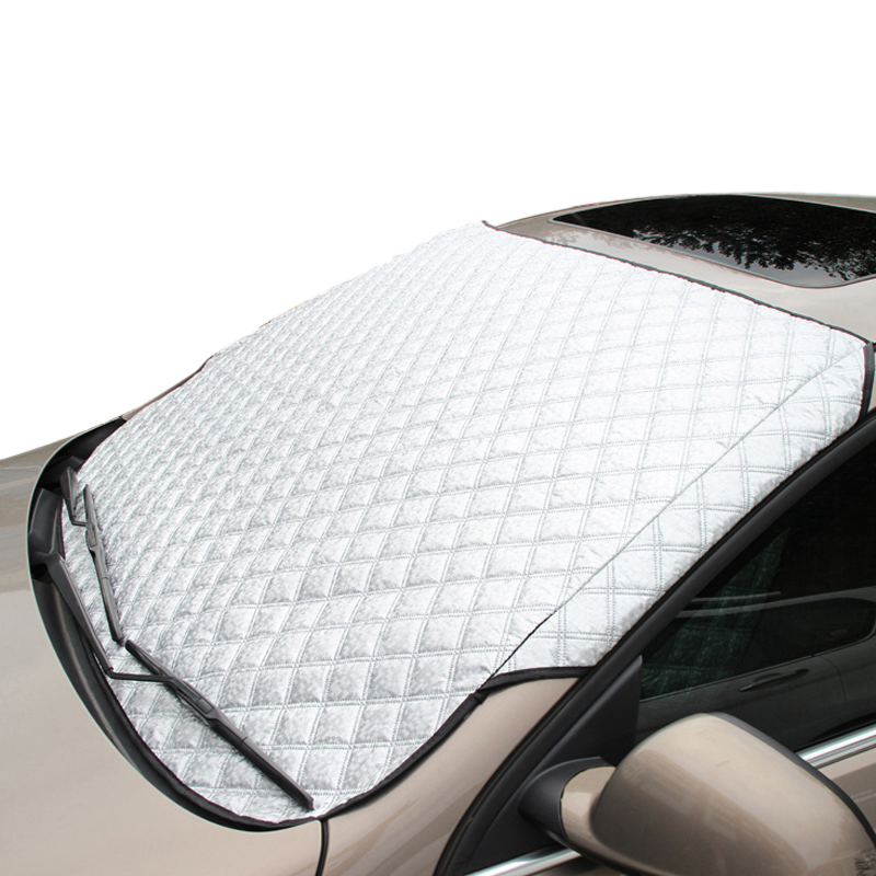 Image 2 - 2019 New Arrival Rushed Car Strong Cover Window Sunshade Auto And Snow Sun Reflective Shade Windshield For Suv Ordinary-in Windshield Sunshades from Automobiles & Motorcycles