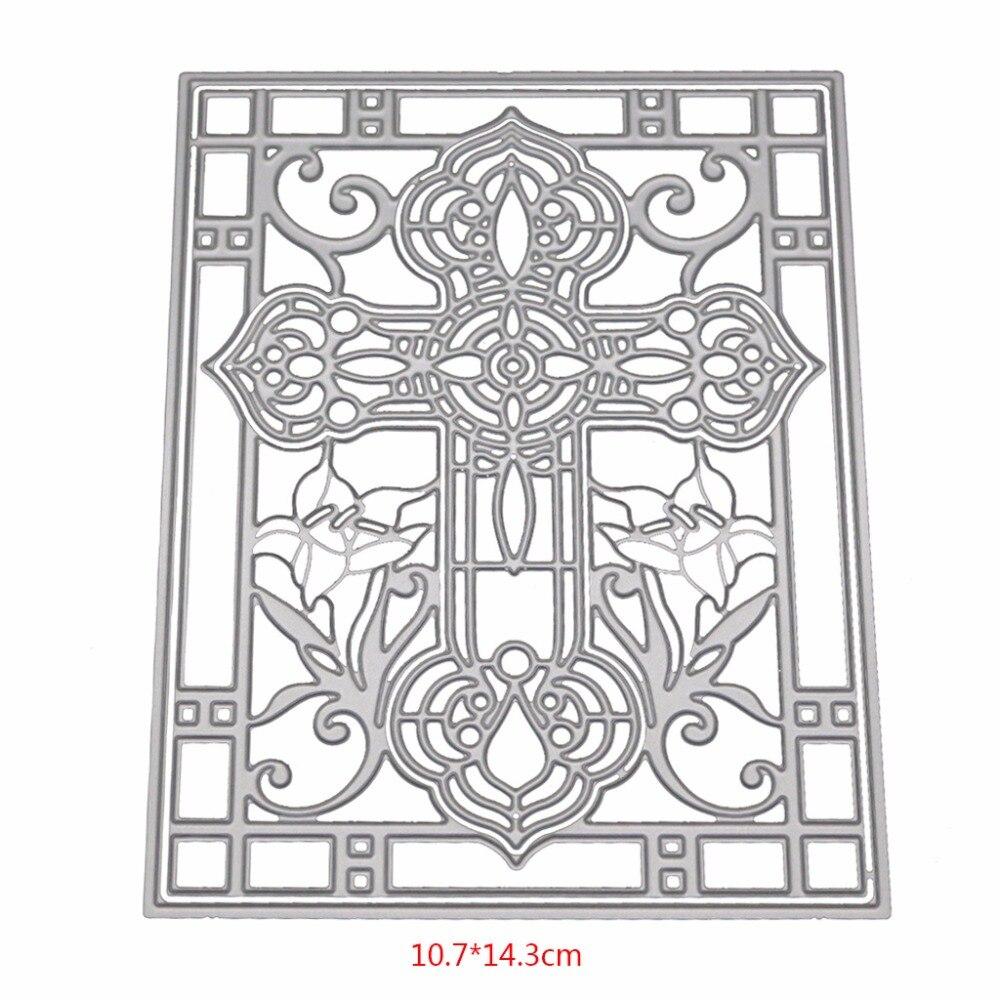 Cross Cutting Dies Stencil For DIY Scrapbooking Embossing Album Paper Card Art Craft