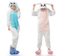 Trajes de conejo mujeres hombres mono fiesta de Halloween Cosplay trajes de camuflaje para adultos ( no incluir slipper )