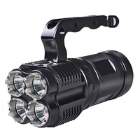 High quality portable light 4 x L2 highlight 6000Lumens tactical LED flashlight 3mode camping tactics torch light