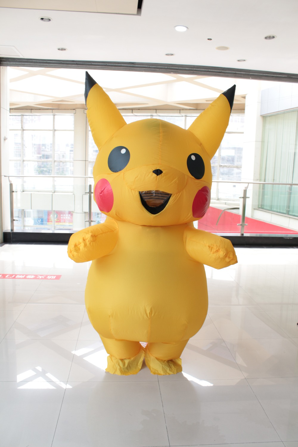 Pikachu Inflatable Costume Adult Large Mascot Cosplay -8251