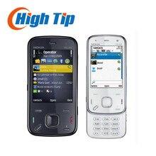 Support de clavier russe nokia n86 débloqué original gsm 3g wifi gps 8mp téléphone mobile noir et blanc rénové livraison gratuite