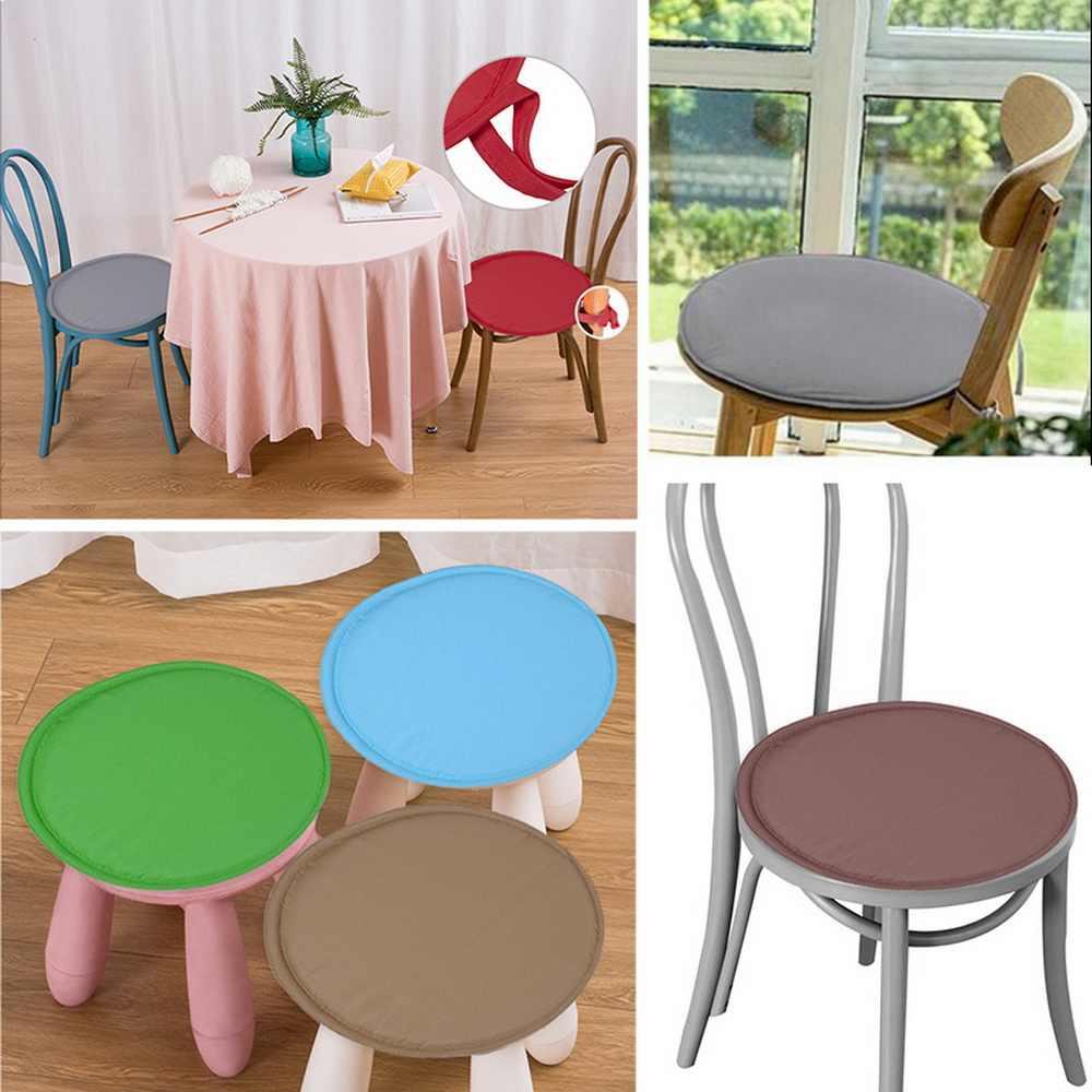 เบาะรองนั่งผ้าฝ้ายมุกเก้าอี้กลับเบาะโซฟาหมอนก้นสบายเก้าอี้ Cushion Home Decor