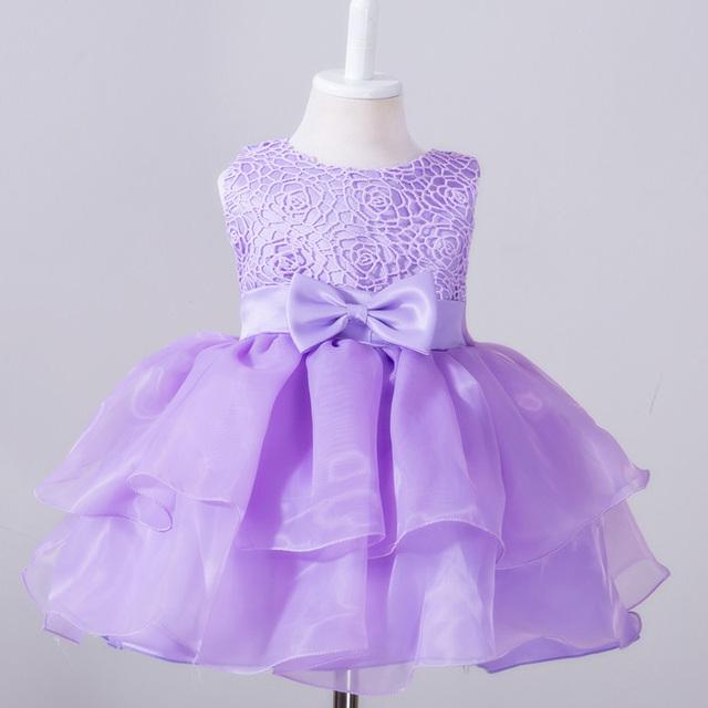 1 Año de Cumpleaños Vestido de Niña Vestidos Para El Partido Y La Boda vestido de Navidad 6 18 Meses Princess Tutu Vestidos de Año Nuevo Traje