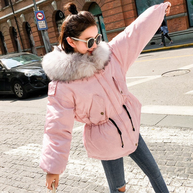 2017 Women Winter Coats Jacket Warm thick Parkas Female Overcoat High Quality Cotton long Coat fur collar slim Parkas 2017 winter classic fashion fur hoodie coat jacket women thick warm long sleeve cotton coats student medium long loose overcoat