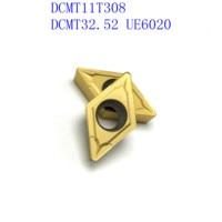 us735 כלי קרביד כלי 20PCS קרביד כלי DCMT11T308 / DCMT32.52 VP15TF / UE6020 / US735 פנימי מחרטה כלי כרסום קאטר NC כלי (2)