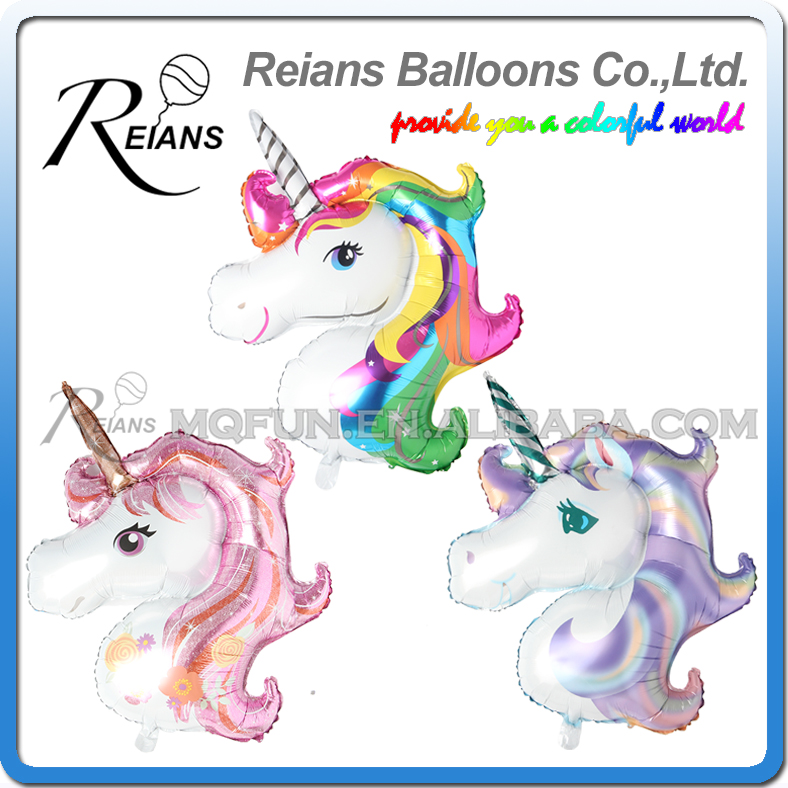 Cartoon Elephant Unicorn Horse Balloon Foil Balloons Kid Baby Gift Toy Decor