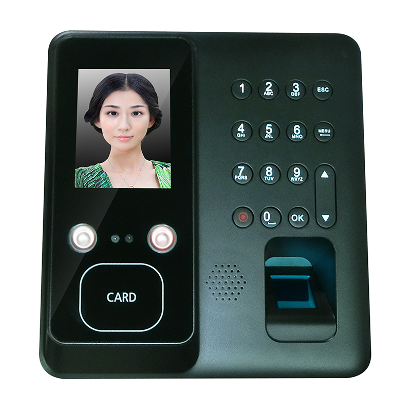 Face Recognition Time Attendance System USB Time Recorder TCP IP WIFI Optional Office Working Time Record