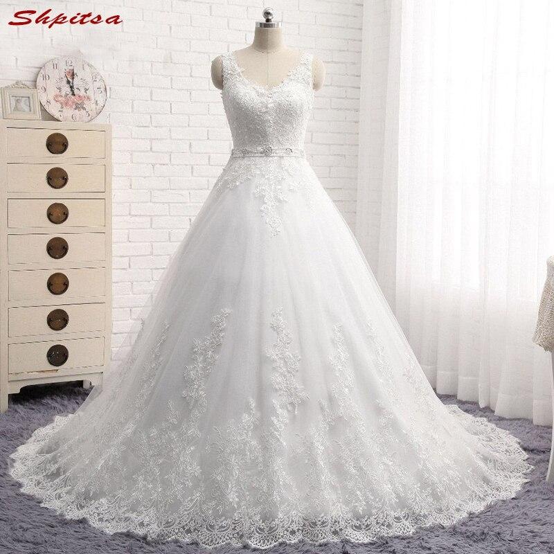 Dentelle princesse robes de mariée robe de bal Tulle chinois robe de mariée 2018 mariage mariée robes robe de mariée