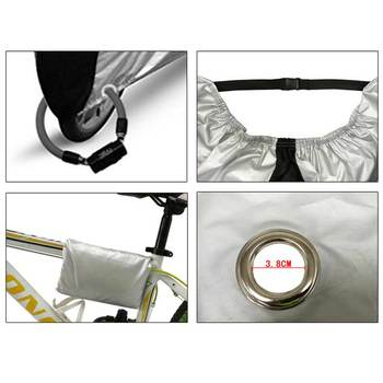 190T ניילון עמיד למים אופניים/אופניים קטנוע כיסוי גשם שלג אבק UV מגן עמיד למים חיצוני 19ing-בציוד הגנה מתוך ספורט ובידור באתר