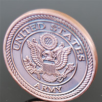 America tank coin Military COINS Copper COINS carving 50pcs/lot DHL free shipping