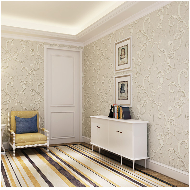 simple background bedroom walls living thick 3d wall xiangyun wallpapers paper woven non