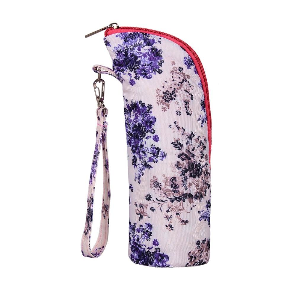 Mommore Printed Bolsa de pañales de Fllower Dot Bolsa de pañales - Pañales y entrenamiento para ir al baño - foto 6