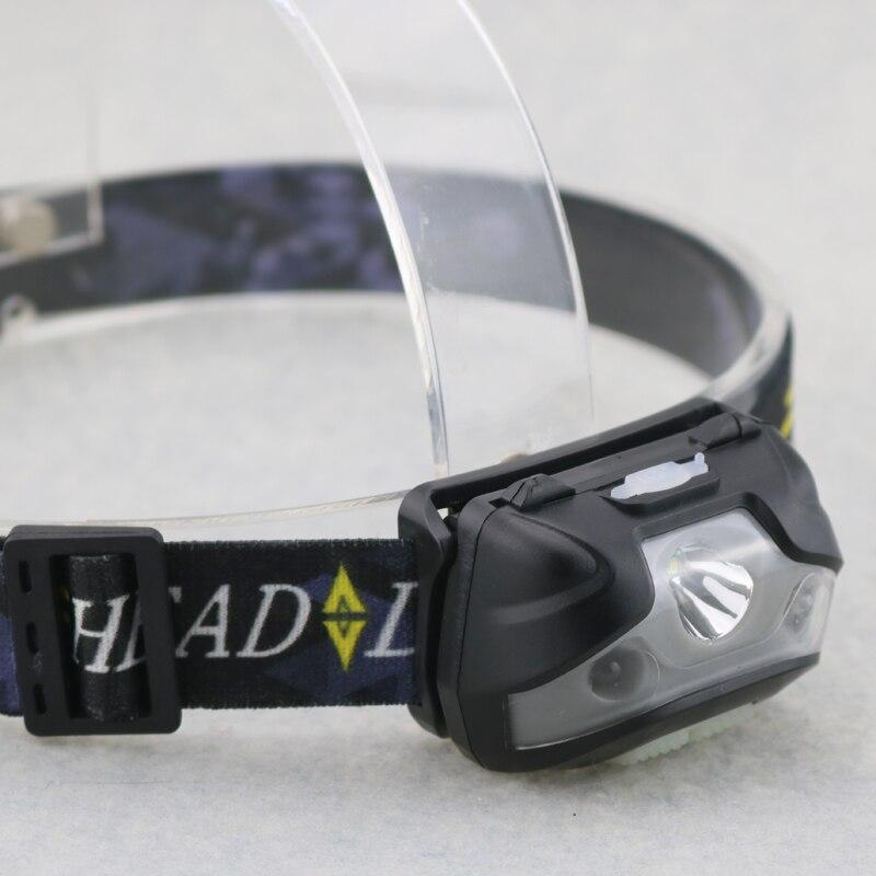 3000 Lumen 5W Mini USB Rechargeable LED HeadLamp Body Motion Sensor Bicycle Headlight Fishing Head Light