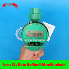 high quality LCD analogue waterproof water timer garden irrigation controller