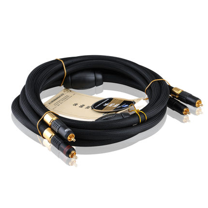 Choseal AA-5401 Hi Fi OCC 6N Single Crystal Copper AV Cable 2RCA to 2RCA Audio Cable high end choseal aa 5401 hifi auido line av cable 2rca male to 2rca male 6n high purity single crystal copper 1 5m 5ft black
