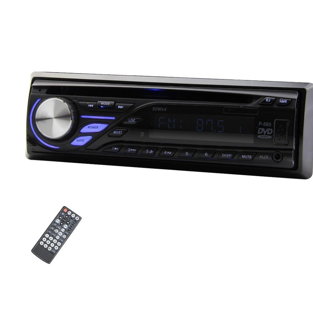 Car music cd player 1din car audio stereo in dash 12v fm receiver with mp3 radio