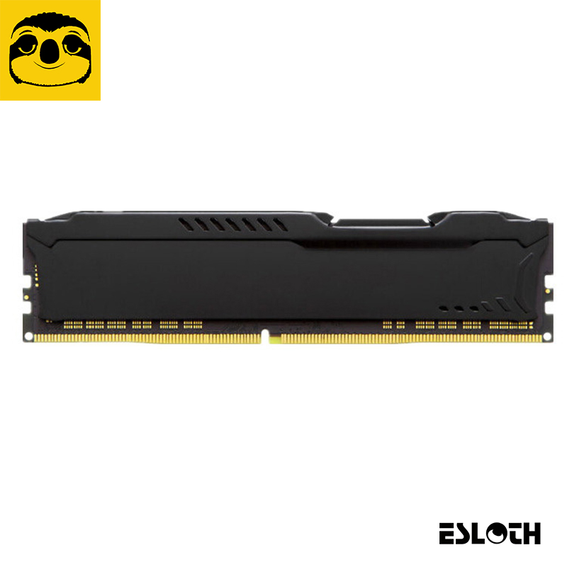 Newest Esloth Computer Components RAM-E02 Heatsink Case Compatible Main Desktop PC DDR,DDR2,DDR3,DDR4 Main Chassis RAMs Cooling hot sell brand new for g skill ddr3 1600 8g 2 ram for desktop computer overclocking f3 12800cl10d 16gbxl