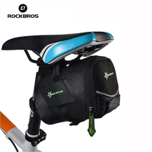 ROCKBROS Outdoor Mountain Bicycle Rear Bag Bike Saddle Bags Bicycles Tail Pouch Package Bike Accessories Bisiklet Aksesuar