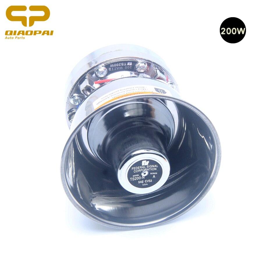 Universal 12V 200W Speaker Car Alarms Sounds Police Siren for Car Auto Alarm Siren 200w Warnig Speaker Train Horn 12v Loud Car
