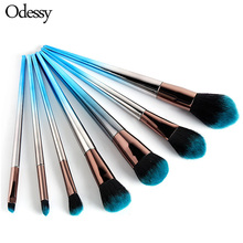 Luxury Makeup Brushes Set For Foundation Powder Blush Eyeshadow Concealer Large Make Up Brush Cosmetics Beauty Tool pro fan brush 7pcs bamboo handle makeup eyeshadow blush concealer brushes set powder foundation facial multifunction beauty tool