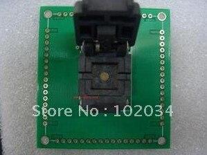 100% NEW QFN64 0.5MM IC Test Socket / Programmer Adapter / Burn-in Socket (64QN5019090) 100% new sot23 sot23 6 sot23 6l ic test socket programmer adapter burn in socket