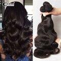 Aliexpress uk 7a cabelo virgem cor natural brasileiro do cabelo humano tecer onda do corpo 4 pcs lot brasileira onda do corpo do cabelo ondulado feixes