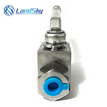 high pressure hydraulic G1/2 threaded ball valve inline ball valve shut off famale ball valve industry 2 way ball valve цена