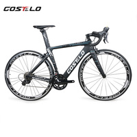 discount sale Costelo Speedcoupe carbon fiber road bike complete bicycle 40mm wheels 3500 group with handlebar stem cheap bike
