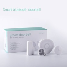433/868mhz GS-DML Smart Home Doorbell System Bluetooth Wireless Door bell With Night Light Support Android/IOS App Control