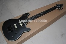 Chinese musical Instruments Factory 2015 brand new E VH wolf gang matte black electric guitar free shipping 218