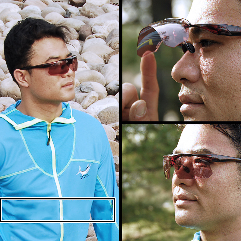 914c2a8774 Polarized Fishing Glasses 4 Lens Set Watching Fish Float Increase Clarity  Boxed Eyewear Filter Blue Light Night Vision Glasses-in Fishing Eyewear  from ...