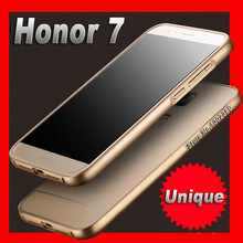 cover honor 7 cover Slim Aluminum Case For huawei honor7 case cover Metal Frame Acrylic Royal huawei honor 7 case cover
