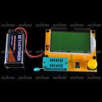 Mega328 Transistor Tester Diode Triode Capacitance ESR Meter MOS PNP NPN L C R Free Shipping