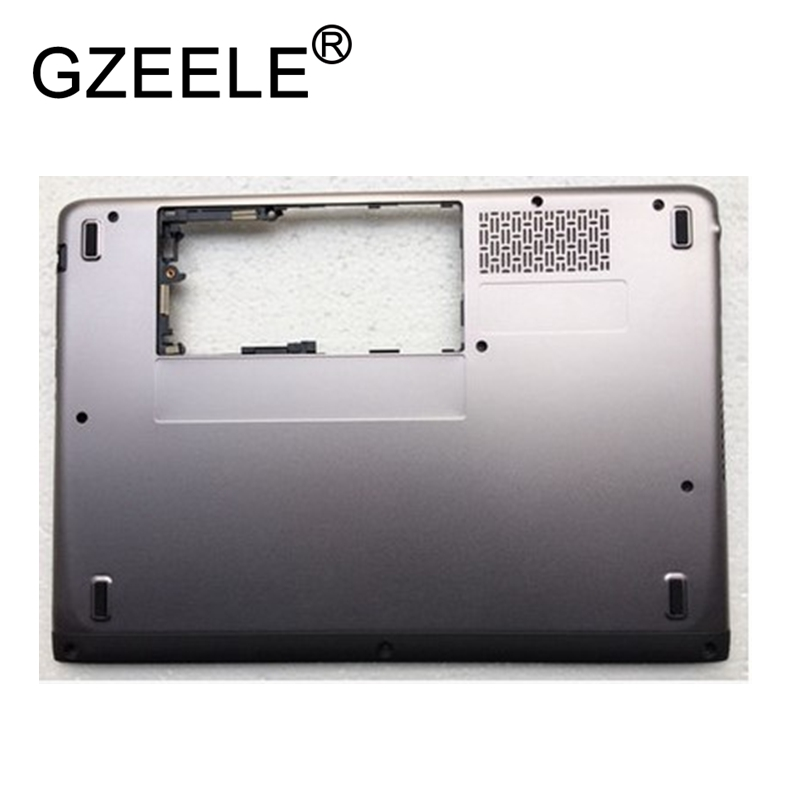 цены GZEELE new Bottom Case For Dell for Vostro 3360 V3360 Bottom Base Chassis D Cover Case shell Laptop lower case notebook Replace