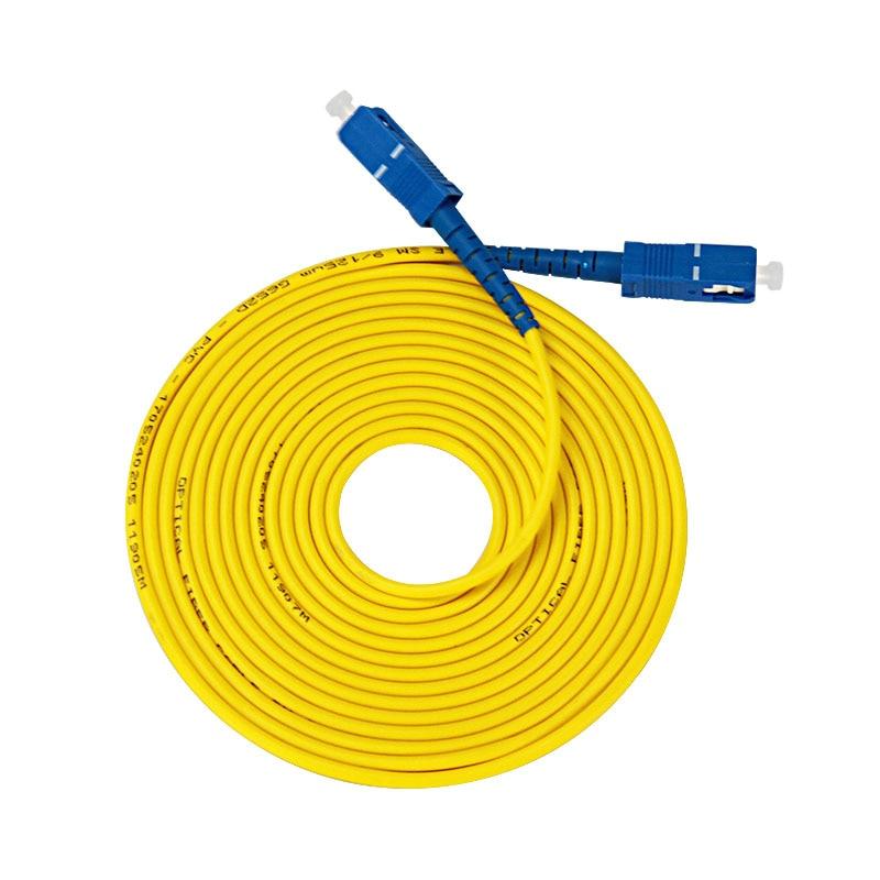 3M SC UPC to SC UPC Fiber Optic 9//125 Simplex Single Mode Optical Patch Cable