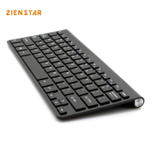Ultra slim 2.4G Teclado Inalámbrico/teclado Bluetooth para Ipad, MACBOOK, LAPTOP, Pc y android tablet