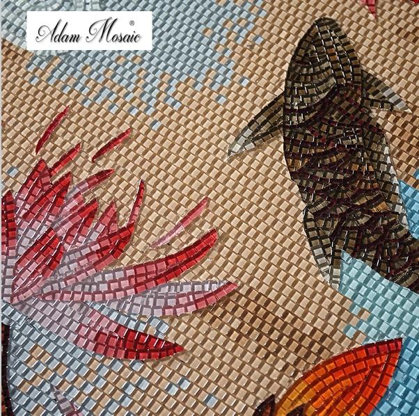 Moza ek tegel muurschildering promotie winkel voor promoties moza ek tegel muurschildering op - Rode mozaiek tegel ...
